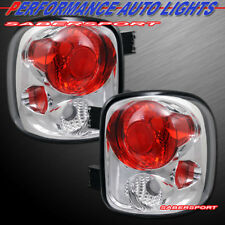 Set of Pair Chrome Taillights for 1999-2004 Silverado Sierra Stepside only