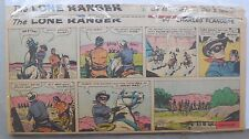 (19) Lone Ranger Sunday Pages by Fran Striker and Charles Flanders from 1963