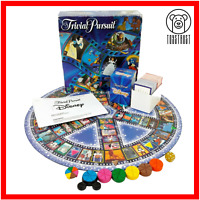 Trivial Pursuit Disney Edition Vintage 1999 Family Board Game Incomplete Hasbro