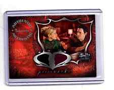 "Buffy ""Connections""PWC2 Anya & Xander  costume card"