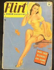 1949 April Flirt Magazine