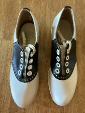 """Vintage """"Nib"""" Womens Saddle Shoes from Sinbac's Helthy Fut Chicago"""