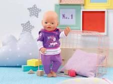 Zapf Creation 822166 Baby Born Freizeit Kollektion in lila  NEUHEIT 2016/