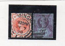 Gran Bretaña Monarquias Valores del año 1887-900 (CG-548)