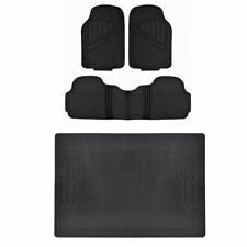 MOTORTREND® HD All Weather Car Floor Mats & Liner Set Durable Rubber Black⭐⭐⭐⭐⭐