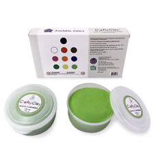 LIGHT GREEN Air Dry Art Clay - Professional Grade | For Craftsmen and Kids |