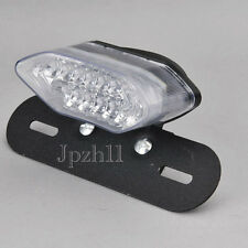 20 LED 12V Motorcycle ATV Tail Turn Signals Brake License Plate Integrated Light