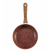 JML 28cm Copper Stone Pans Non-stick & Hard Wearing with Wood Effect Handle