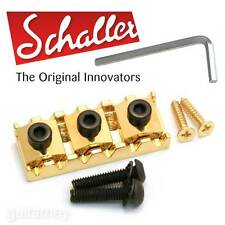 "NEW Genuine Schaller Germany Floyd Rose R3 1-11/16"" Locking Guitar Nut - GOLD"
