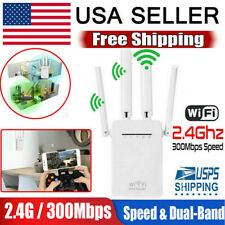 Wifi Extender 300Mbps Network Repeater Wireless Amplifier Range Signal Booster