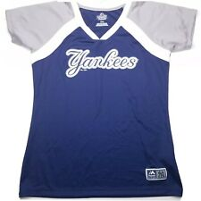 Majestic Youth New York Yankees T-Shirt Shortsleeve Size Large D01