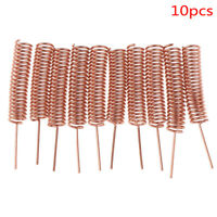 10PCS/Lot 433MHZ 3DBI Helical Copper Antenna for Arduino Remote Control NT
