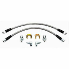 Wilwood Braided Stainless Brake Flexline Kit Chevy Front 220-7699