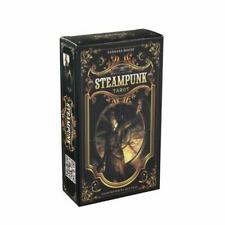 78pcs The Steampunk Tarot Cards Deck Family Party Board Game Oracle Playing Card