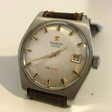 "(87/94) RARE Vintage Watch ""TISSOT PR 516"" 34mm manual winding - STEEL CASE"