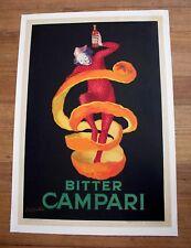 Original Vintage Poster Campari Bitter Leonetto Cappiello 1921 - Medium size