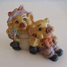 Tirelire céramique cochonne cochon