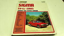 1980 1981 1982 1983 MITSUBISHI SIGMA GH GJ   Workshop Manual