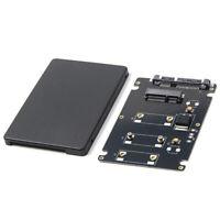 Mini Pcie Msata Ssd a 2,5 Pulgadas Sata3 Tarjeta Adaptador con Caja 7 Mm de L2Z9