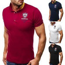 Herren-Freizeithemden & -Shirts aus Baumwollmischung mit Rundhals
