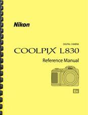 Nikon Coolpix L830 Digital Camera USER'S REFERENCE MANUAL
