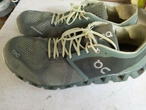 Used On Cloud  Swiss Engineering Cloudflow Blue Running Shoes Lace Up Sz M 12.5