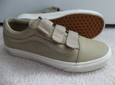 NWT MEN'S VANS OLD SKOOL V (LEATHER) SNEAKERS/SHOES SIZE 9.BRAND NEW FOR 2018.