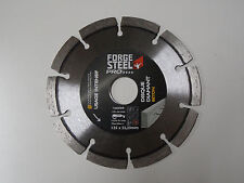 Disque diamant forge steel pro* 125 beton
