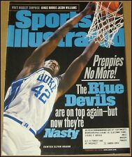 2/22/1999 Sports Illustrated Elton Brand Duke Blue Devils Oscar De La Hoya Tiger