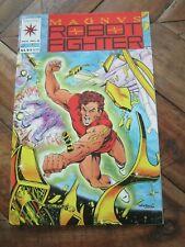 Magnus Robot Fighter #  8 Valiant - Jan 1992 w/ Cards / Coupon Rai #4 Flip  ZCO0