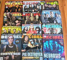 Decibel Magazine ( Lot Of 12 Issues- 2012)
