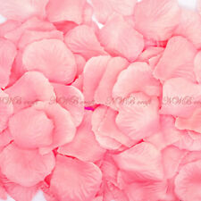 1000 Silk Rose Petals Flower Confetti Engagement Wedding Birthday Decoration UK Pretty Pink 400