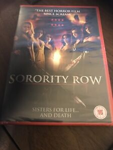 Sorority Row (DVD, 2010) SEALED UK POST Horror