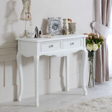 Wooden Rectangle French Country Console Tables