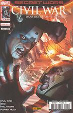 SECRET WARS CIVIL WAR N° 1 couv 2/2 Marvel France Panini comics