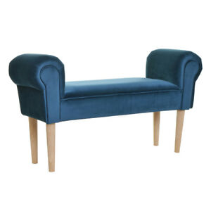 Padded Bench Designer Bench Seating Furniture Leather Bench Wooden Bench Garden