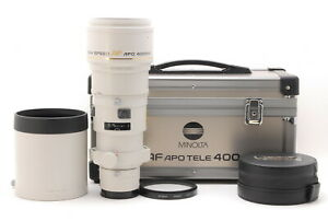 【MINT】 MInolta AF Apo Tele 400mm f/4.5 High Speed Lens A mount From JAPAN