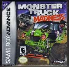 GBA Monster Truck Madness (2003) Nintendo Nuovo di Zecca & Sigillato in Fabbrica