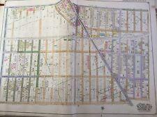 1920 Midwood Brooklyn, Ny Insurance Atlas Map By E. Belcher Hyde 27X36
