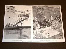 Visita dell'Imperatore Guglielmo II a Napoli nel 1905 Hamburg Hohenzollern