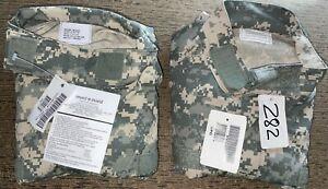 US Army ACU Shirt Medium Regular Set of 2 NWT 8_282