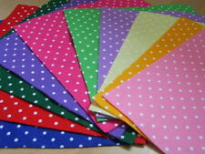 Crafts Squares Spotted Fabric