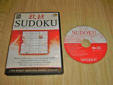 GSP SUDOKU PC CDROM GAME