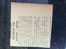 M3-9a ephemera 1941 dagenham ww2 article cricket report westbury v squires wease