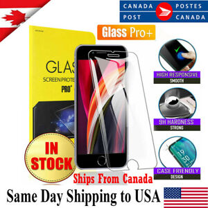 For Apple iPhone 12 11 pro XS Max XR X 7 8 SE 20 Tempered Glass Screen Protector