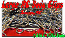 100pcs  LARGE RC Body Clips 1/5th & 1/8th Scale Pins  HPI Baja Losi 5ive Ofna