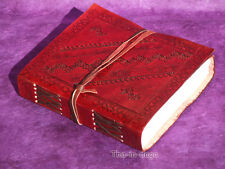 Carnet Notebook Cuir 240 Pages 15x13x3 Artisanat Inde 28