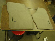 NOS Ford Super Duty Truck Roush Floor Mats F250 F350 Tan 2004 2005 2006 2007