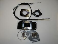 Chariot Banshee BLACK 2 into 1 Intake Kit With Cable 26-28 carb