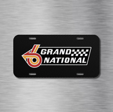 Grand National Buick Regal turbocharged Vehicle License Plate Front Auto Tag NEW